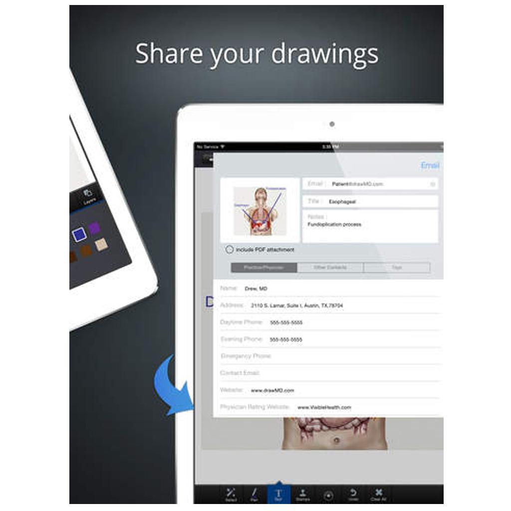 drawMD app