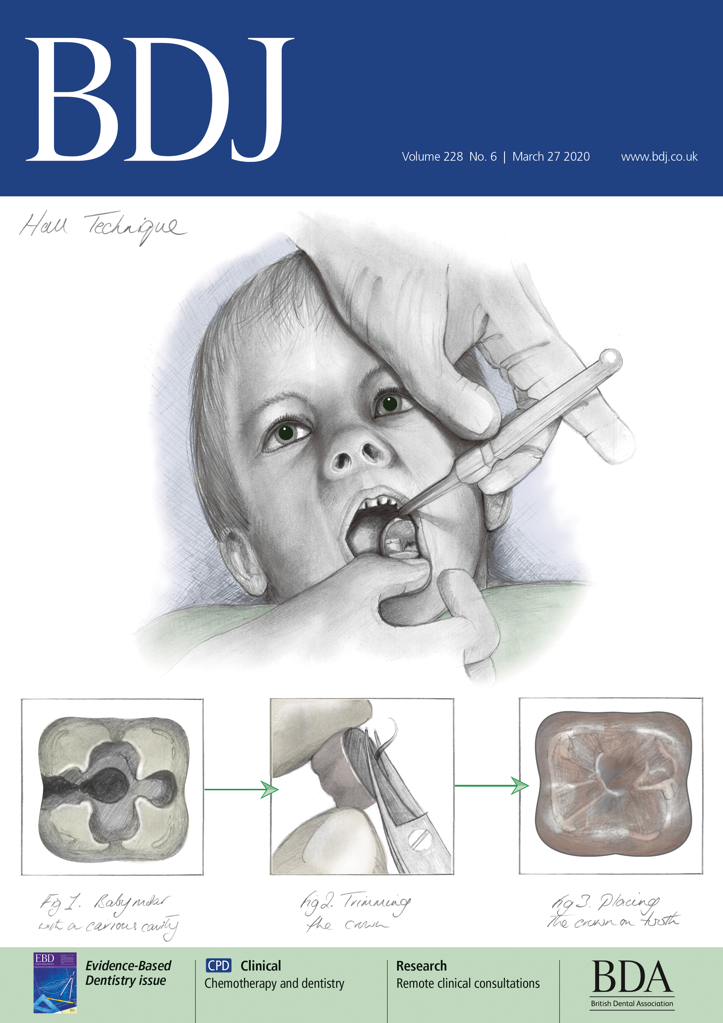 British Dental Journal Cover 6